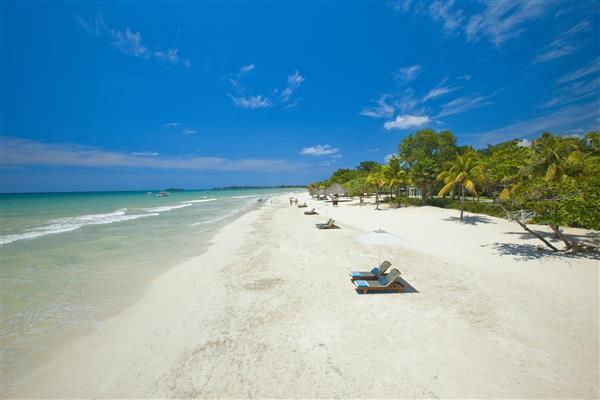Jamica Seven Mile Beach, Beaches Negril