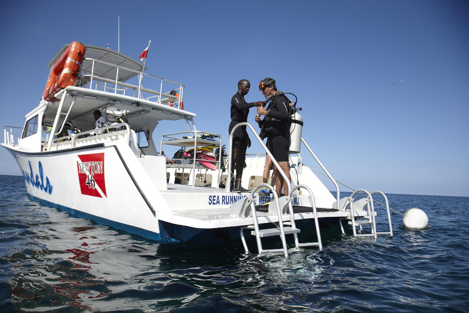 Sandals unlimited diving